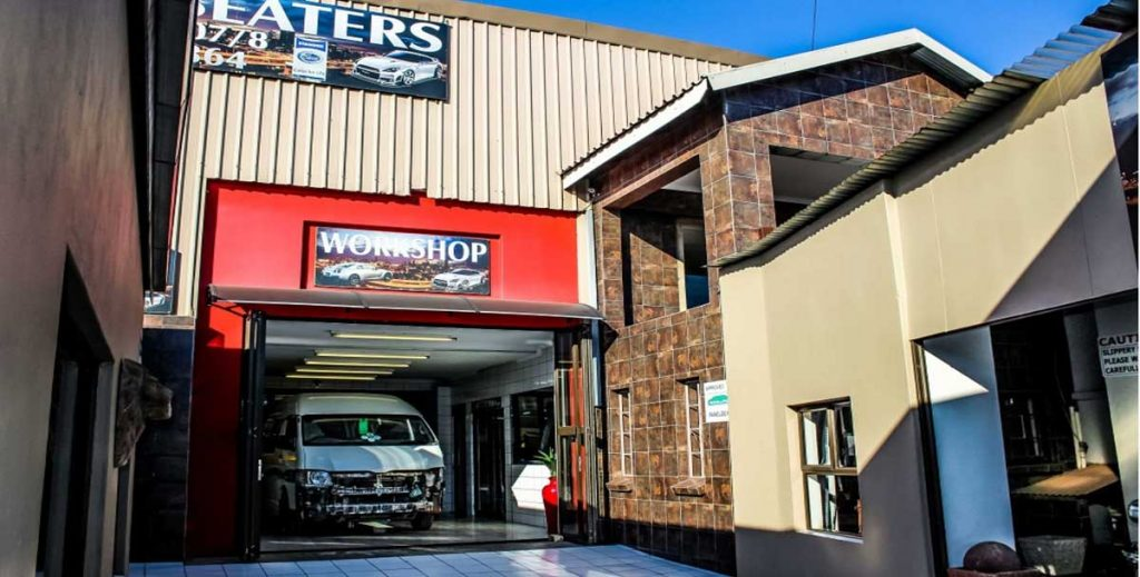 WC Panel Beaters Potchefstroom Polish Bay