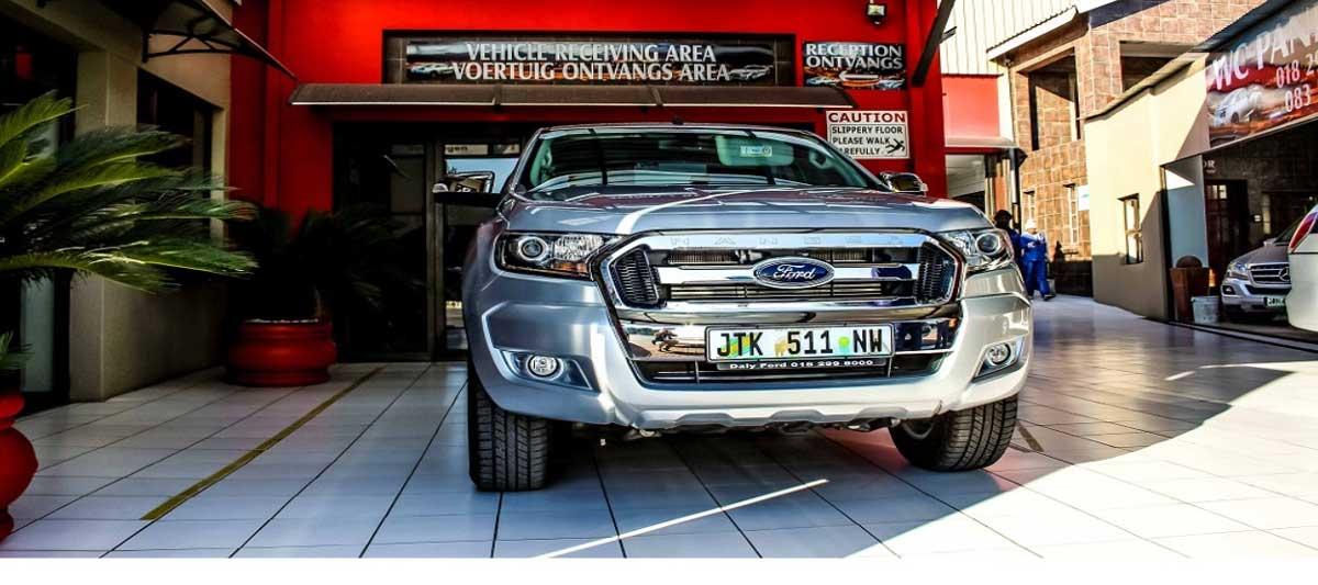 WC Panel Beaters Potchefstroom Show Room