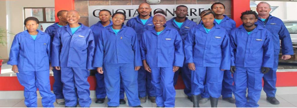 WC Panel Beaters Potchefstroom Staff